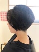 リリー ヘアーデザイン(Lilly hair design)刈り上げショート×ニュアンスパーマ