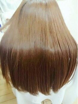 カットサロン グローリー(cut salon GLORY)の写真/リニューアルオープン☆【シルクion縮毛】【ion低温ストレート】がオススメ!シルクion縮毛は60%OFF!