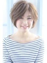 ジーナシンジュク(Zina SHINJYUKU)☆Zina☆グレージュふんわりショート♪