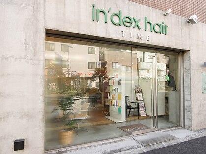 インデックスヘア 北砂店(indexhair)の写真