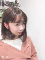 リルシープ(Lilsheep)ミディアムボブ~やわらかスタイル~