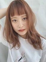 【GARDEN武田美奈】透明感たっぷりオレンジベージュカラー