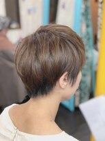 カイナル 関内店(hair design kainalu by kahuna)ドライヴカット×インナーローライト