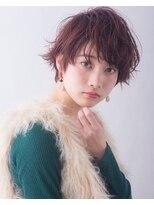 ルカ リノア(Luca lino:a)耳だしショートのおしゃれ濡れ髪スタイリング 【大宮】