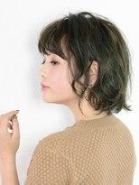 アース 小田原店(HAIR&MAKE EARTH)楽チン♪万能セミウェットボブスタイル【EARTH小田原店】