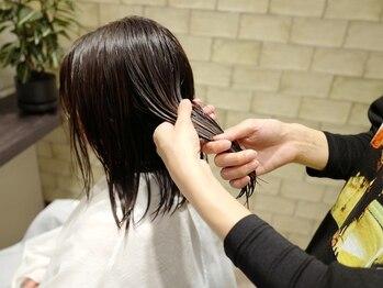 レキュップ(Lequipe)の写真/プレミアムブランド「ケラスターゼ」、髪質改善ブランド「TOKIOインカラミ」を使用し、最適なケアをご提案