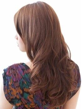 アブティール(Aboutir)の写真/弾力/カール感が可愛いアブティールのパーマ♪毛髪補修成分配合ノンアルカリパーマ液は施術する程髪質改善!