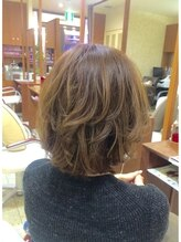 ヘアーズ クラーレ(Hair's Curare)【hair's curare】伸ばしかけレイヤーボブ