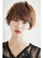 リル ヘアーデザイン(Rire hair design)【Rire-リル銀座-】無造作☆くせ毛風ショート☆