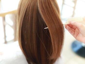 マアム ジー 経堂店(ma'am Zee)の写真/【Aujua取扱い】かゆみ・絡まり・細くなった髪…お悩みに応えるパーソナルトリートメントで綺麗が続く♪