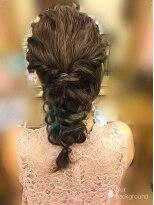 ヘアセットサロン アトリエ チャイ(Hair set salon atelier CHAI)インナーカラーはアクセントに!編みおろし☆