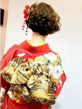 アイビイ(ivy)の写真/≪事前打ち合わせ有≫着物や振袖の着付けも【ivy】がオススメ☆ご不明な点があればお問い合わせ下さい!