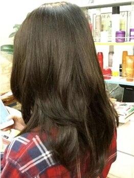 クラフトヘアトゥソウル(CRAFT Hair to Soul)の写真/癖毛や、剛毛で髪の扱いに悩んでいる方必見★毎日のお手入れが楽になるドライカットをお手頃価格で!