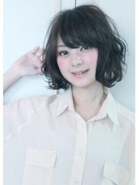 ロジッタ(ROJITHA)ROJITHA☆BROOkLYNガール/★黒髪ゆるふわボブ★03-6427-3460