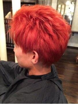 クレア ヘアー アーバン 本店(CREA hair urban)マンダリンオレンジ