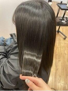 クレア 茅ヶ崎(CREA)の写真/毛先がチリつかない、硬くならない、傷まない縮毛矯正『ネオリシオ』☆自分史上最高のストレート!