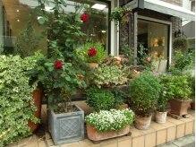 ゲッカ あざみ野(gecca)の雰囲気(カフェやお花屋さんと間違えられる緑があふれる爽やな外観です☆)