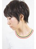1001ミル ヘアーメイク プラス カフェ(1001 mille hairmake+cafe)ラフショート☆[1001mille]