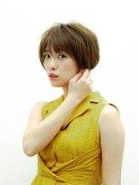フラココ 神楽坂(hurakoko kagurazaka)【モテ髪ヘアカタログ】エアリーベージュショート