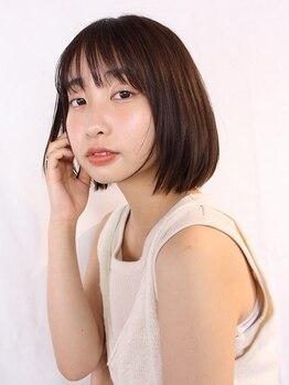 トコノバ(toconova)の写真/扱いやすく自然なストレートが大人気♪髪の毛の状態を見極め、気になるクセもしっかり伸ばします◎