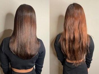 ラズリー(Lazliy)の写真/【通常の縮毛矯正とは一味違う。髪の負担を最小限に抑えて、周りから褒められるような美髪へ導きます。】