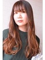 アトリエ ドングリ(Atelier Donguri)『髪質改善』orange beige