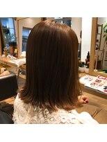 ハブコヘアスパ(HaBCo hair spa)切りっぱなしボブ