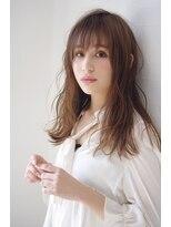 ヘアリゾート リアン(hair resort Lien)エアリーラフロング ☆Lien☆ 倉田