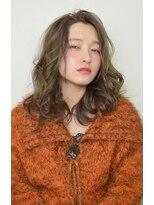 オブヘアー 鷺沼店(Of HAIR)ミックスカールセミロング☆