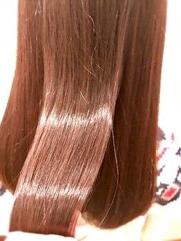 ルル ヘアーデザイン(RURU Hair Design)の写真/15種類に細分化された豊富な薬剤で、ひとりひとりに合わせた薬を選定します!極限までダメージを抑えます☆