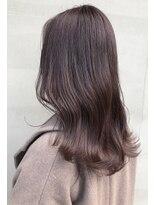 ヘアー アイス ルーチェ(HAIR ICI LUCE)まろやかブラウンカラー 透明感カラー 担当中西