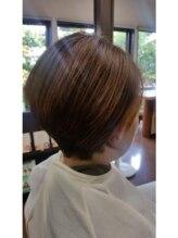 ヘアーヒーリングサロン アズ ラグジュアリー(hair healing salon az luxury)ショートボブ