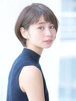 【佐藤真希】短め前髪×すっきりショート 小顔 ひし形