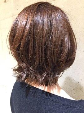 pelo 西葛西 ナチュラル無造作ボブ l021869974 ペロ pelo のヘア