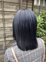 コレット ヘアー 大通(Colette hair)ネイビー☆ブルー