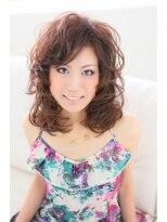 """オーガニックサロン フェイス 茶屋町店(organic salon face)""""ふんわりJカール"""""""