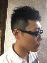 ヘアーメイクサロンアカイシ(hairmake salon AKAISHI)ルーズトップ&フェード