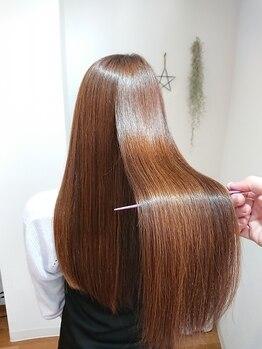 イロ(ilo)の写真/髪質改善に徹底的にこだわったオーダーメイド髪質改善!必要な栄養を調合し扱いやすい髪の毛へと導きます!