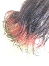 プラスアルファ(Hair design +α)鬼滅カラー (甘露寺さん)