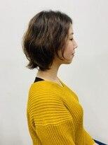 アールピクシー(Hair Work's r.Pixy)春のやるパーマ×ボブヘア