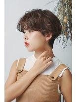 ミンクス 銀座店(MINX)横顔を美しく引き立てる美フォルムショートヘア