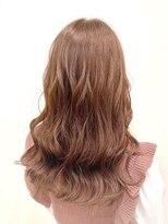 ピンクベージュ UEL HAIR