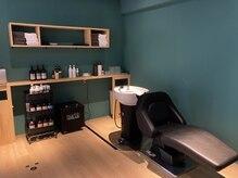 ソーイ ヘアー(soi hair)の雰囲気(シャンプープースは半個室の、落ち着いた空間になっています。)