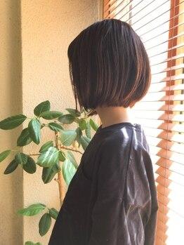 サンスーシ ヘア Sans Souci HAIR 下丸子店の写真/お悩みに寄り添ったカウンセリングが魅力♪1人ひとりのなりたいを見つけ理想のスタイルを叶えてくれる◎