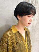 テトヘアー(teto hair)マッシュ 黒髪 ショート モード