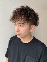 【R.A.F.】ツイストスパイラルのメンズヘア