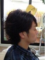 クール ヘアー セッション 本町店(COOL Hair session)ミディアムパーマスタイル