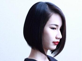 ベイ サロン タカミ(BAY SALON TAKAMI)の写真/髪質を柔らかく改善するスピエラストレート♪前髪や顔周りの気になる箇所だけ直すポイントストレートも◎