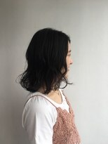 ヘアメイク オブジェ(hair make objet)タンバリボブ