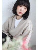 ケンジ 横浜(KENJE)美髪チャージサイエンスアクア+肩につくかつかないか上品なボブ